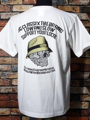 OG Classix オージークラッシックス Tシャツ (PAISLEY SKULL) カラー:ホワイト