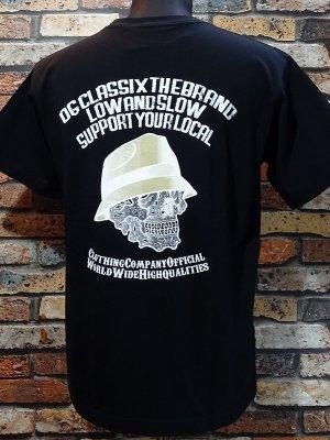 OG Classix オージークラッシックス Tシャツ (PAISLEY SKULL) カラー:ブラック