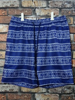 kustomstyle カスタムスタイル ボードショーツ (KSBOSP0902NY) bandana border easy board shorts カラー:ネイビー
