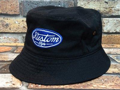 kustomstyle カスタムスタイル バケットハット(KSBH2008BK) motor company bucket hat カラー:ブラック