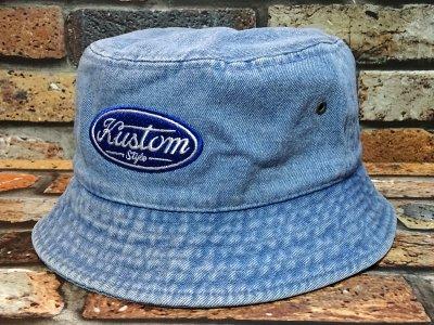 kustomstyle カスタムスタイル バケットハット(KSBH2008DEN) motor company bucket hat カラー:デニム