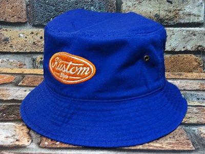 kustomstyle カスタムスタイル バケットハット(KSBH2008BL) motor company bucket hat カラー:ブルー