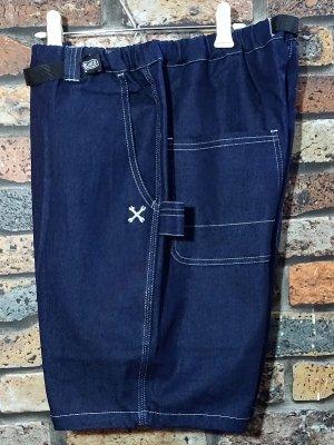 Bluco ブルコ  ストレッチイージーショーツ (OL-005D-020) stretch easy shorts カラー:インディゴ