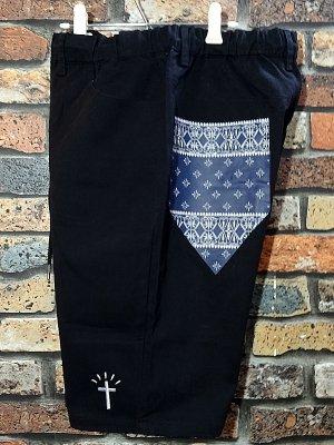 kustomstyle カスタムスタイル イージーショーツ (KSSP2013BK) los cerritos easy shorts カラー:ブラック
