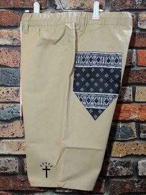 kustomstyle カスタムスタイル イージーショーツ (KSSP2013KH) los cerritos easy shorts カラー:カーキ