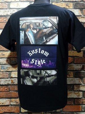 kustomstyle カスタムスタイル Tシャツ (KST2015BK) 3LA photo カラー:ブラック