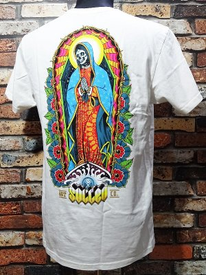 sullen clothing サレンクロージング Tシャツ(REZA POR EL SURF PREMIUM FIT) カラー:ホワイト