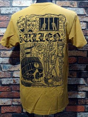 sullen clothing サレンクロージング Tシャツ(LIFER MUSTARD PREMIUM) カラー:マスタード