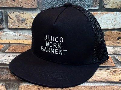 Bluco ブルコ  メッシュキャップ (OL215)  カラー:ブラック
