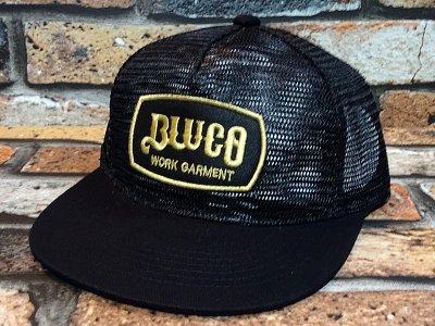 Bluco ブルコ  メッシュキャップ (OL221)  カラー:ブラック