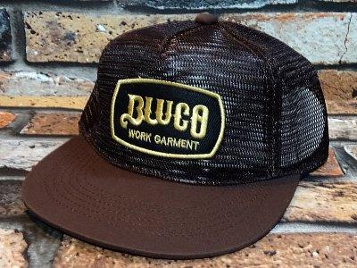 Bluco ブルコ  メッシュキャップ (OL221)  カラー:ブラウン