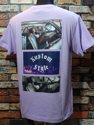 kustomstyle カスタムスタイル Tシャツ (KST2015LPU) 3LA photo カラー:ライトパープル