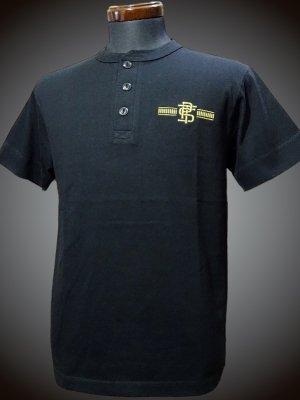 parasite パラサイト ヘンリーネックTシャツ (PST) カラー:ブラック