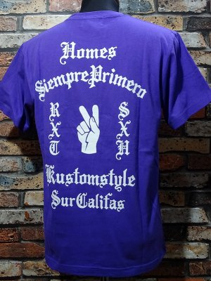 kustomstyle カスタムスタイル Tシャツ (KST1802PU) primero カラー:パープル