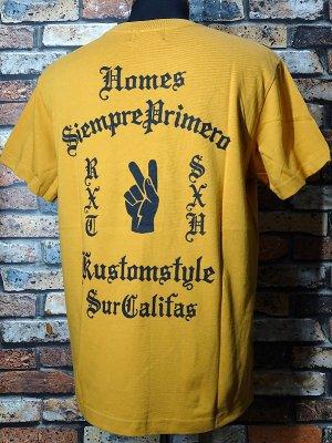 kustomstyle カスタムスタイル Tシャツ (KST1802CA) primero カラー:キャメル