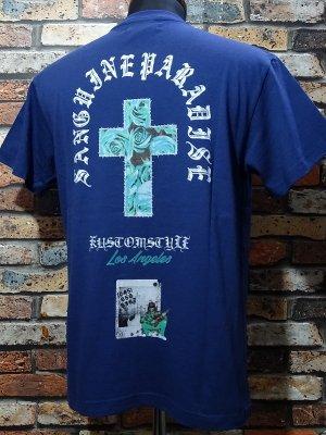 kustomstyle カスタムスタイル Tシャツ (KST2017IND) sanguine paradise カラー:インディゴ