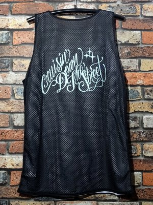 kustomstyle カスタムスタイル  タンクトップ (KSTP1902BK) cruisin down the street reversible mesh jersey カラー:ブラック