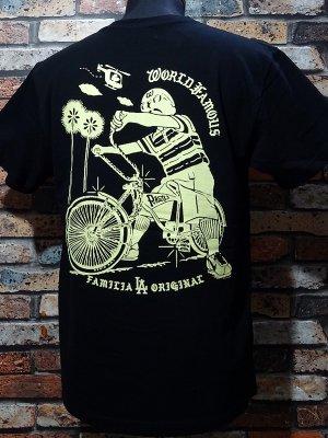 LA FAMILIA ORIGINAL ラ ファミリアオリジナル Tシャツ (LOLO) カラー:ブラック