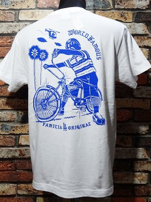 LA FAMILIA ORIGINAL ラ ファミリアオリジナル Tシャツ (LOLO) カラー:ホワイト