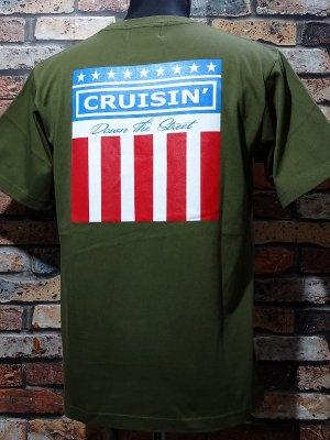 kustomstyle カスタムスタイル Tシャツ (KST2003CGR) classic wheels カラー:シティグリーン