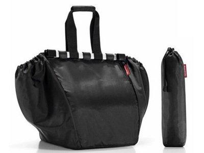 イージーショッピングバッグ (レジカゴにそのままセット) カラー:ブラック