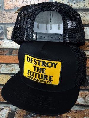 LoserMachine ルーザーマシーン メッシュキャップ (DESTROY) snapback mesh cap カラー:ブラック