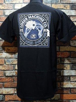 LoserMachine ルーザーマシーン Tシャツ (SLOW HAND) カラー:ブラック