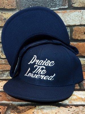 kustomstyle カスタムスタイル  スナップバックキャップ (KSCP2018NY) praise the lowered snap back cap カラー:ネイビー