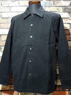RealMinority リアルマイノリティー ストレッチツイル シャツジャケット (standard) カラー:ブラック