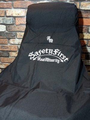 RealMinority リアルマイノリティー オールウェザー シートカバー (SafetyFirst×2) ALL WEATHER SEAT COVER-Bluco  カラー:ブラック