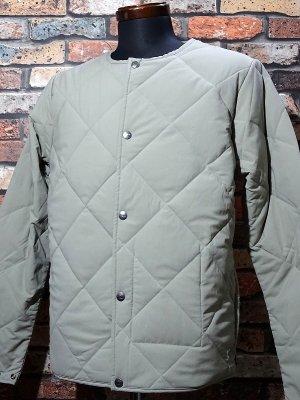BLUCO ブルコ  ノーカラー キルティングジャケット (OL-011-018) quilting work jacket  カラー:サンド