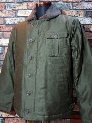 ZANTER JAPAN ザンタージャパン N-1タイプ ダウンジャケット 日本製 Zanter deck down jacket  カラー:カーキ