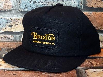 Brixton ブリクストン スナップバック キャップ grade hp snapback  カラー:ブラック