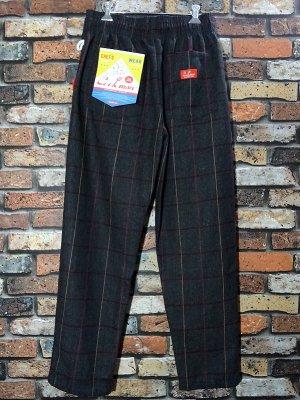 Cookman クックマン Chef Pants シェフパンツ ルーズフィット イージーパンツ Wool Mix Check Gray) コックパンツ カラー:グレー