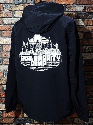 RealMinority リアルマイノリティー  プルオーバー アノラックパーカー (CAMP) カラー:ブラック