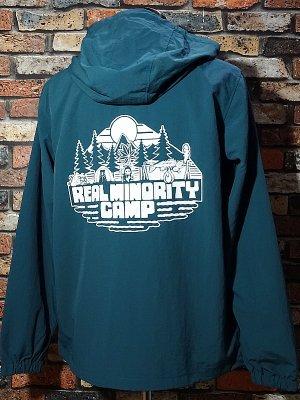 RealMinority リアルマイノリティー  プルオーバー アノラックパーカー (CAMP) カラー:アンティークグリーン