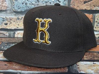 kustomstyle カスタムスタイル  スナップバックキャップ (KSCP2019BR) strike snap back cap カラー:ブラウン