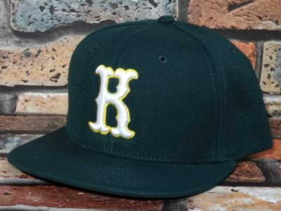 kustomstyle カスタムスタイル  スナップバックキャップ (KSCP2019HG) strike snap back cap カラー:ハンターグリーン