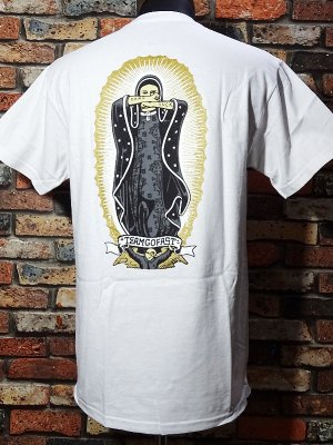 HardLuck ハードラック Tシャツ (SHINE LADY G) カラー:ホワイト