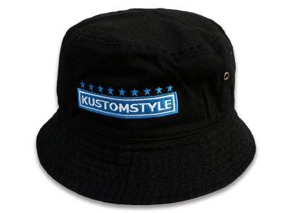 kustomstyle カスタムスタイル バケットハット(KSBH2003BK) classic wheels bucket hat カラー:ブラック