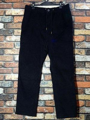 kustomstyle カスタムスタイル ストレッチ コーディロイ イージーパンツ (KSLP2003CORBK) classic wheels corduroy pants カラー:ブラック