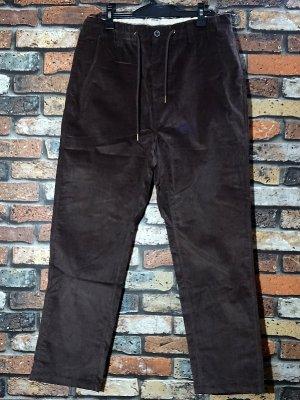 kustomstyle カスタムスタイル ストレッチ コーディロイ イージーパンツ (KSLP2003CORBR) classic wheels corduroy pants カラー:ブラウン