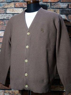 kustomstyle カスタムスタイル カーディガン (KSCD1807BR) lock city cardigan カラー:ブラウン