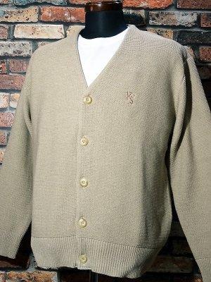 kustomstyle カスタムスタイル カーディガン (KSCD1807BE) lock city cardigan カラー:ベージュ