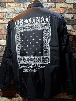 OG Classix オージークラッシックス コーチジャケット (BANDANA COACH JACKET) カラー:ブラック