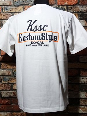kustomstyle カスタムスタイル Tシャツ (KST2102WH) the way we are カラー:ホワイト