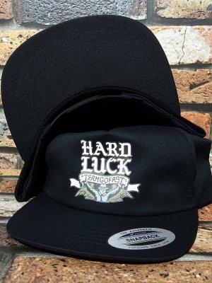 HARD LUCK ハードラック スナップバック (ANGELITO) snapback cap カラー:ブラック