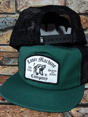 LoserMachine ルーザーマシーン メッシュキャップ (GUARD) snapback mesh cap カラー:フォレスト グリーン