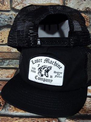 LoserMachine ルーザーマシーン メッシュキャップ (GUARD) snapback mesh cap カラー:ブラック