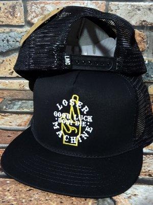 LoserMachine ルーザーマシーン メッシュキャップ (FLUKE) snapback mesh cap カラー:ブラック
